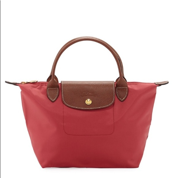 c4cc96b27b Longchamp Handbags - Longchamp Le Pliage Small Red Handbag